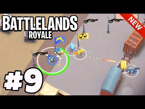 First EVER NEW MAP Victory Royale! - Battlelands Royale #9 (FORTNITE.IO IOS / Android)