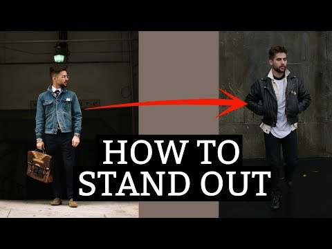 How to Stand Out | Dressing to be Unique | 5 Ways to Make an Outfit Stand Out