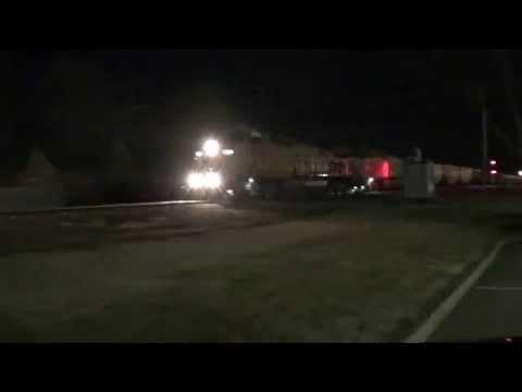 Union Pacific coal train heading north through Marion Illinois