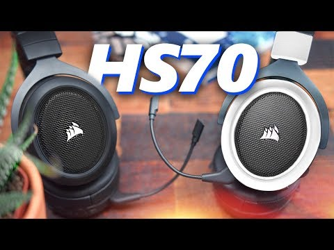 Wireless & AFFORDABLE Corsair HS70 Wireless Headset Review