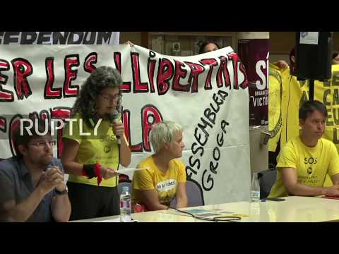 LIVE: Pro-independence students occupy university