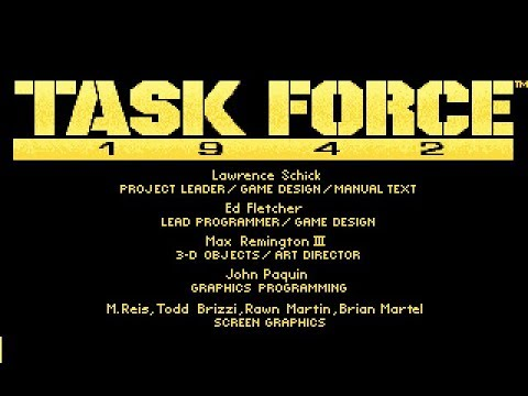 Task Force 1942 (PC/DOS) 1992, MicroProse