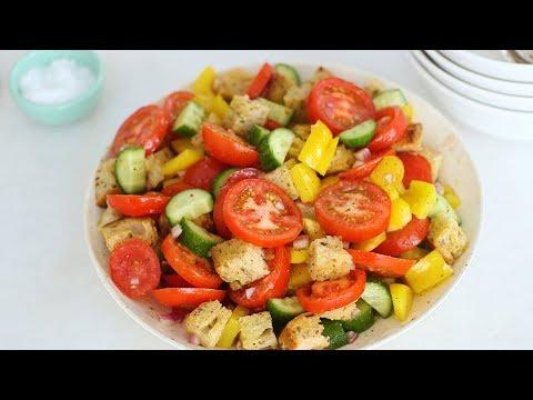 Gazpacho Chopped Salad - Healthy Appetite with Shira Bocar