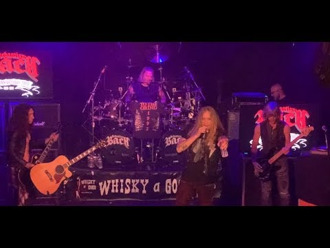 """Skid Row's Sebastian Bach performed full """"Slave to the Grind"""" album in Hollywood"""