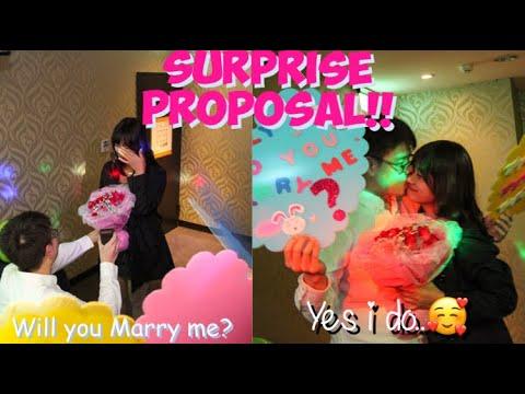 Surprise Proposal in Taiwan (taiwanese & Filipina) Peter & Lhei
