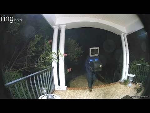 image for TV-Head Guy Leaves Box TVs on People's Porches