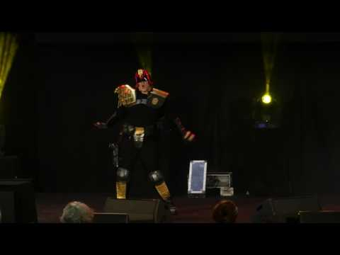 related image - HeroFestival 2016 - Marseille - Concours Cosplay - 06 - Judge Dredd