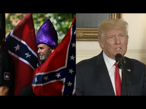 Trump Reluctantly Condemns White Supremacists,  but his Presidency Still Empowers Them