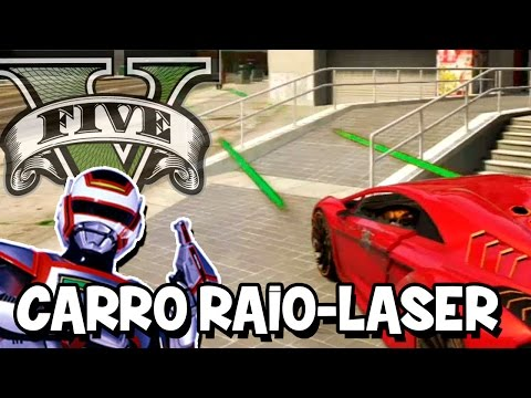 GTA V – Carro do Jaspion com RAIO LASER MOD