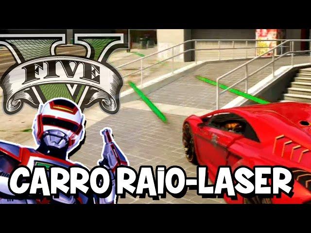 GTA V – Carro do Jaspion com RAIO LASER MOD