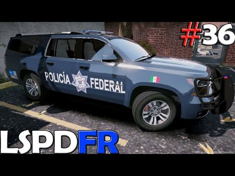 GTA V LSPDFR #36 | POLICIA FEDERAL DE MEXICO | TheAxelGamer