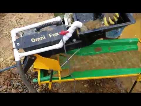 Le' Trap With Gold Fox Omni Trommel Geo Sluice Mining