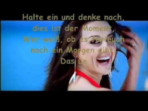 Kal Ho Na Hoo - Lebe Und Denke Nicht An morgen ( Indian Love story ) ÜberSetzung Deutsch :'D