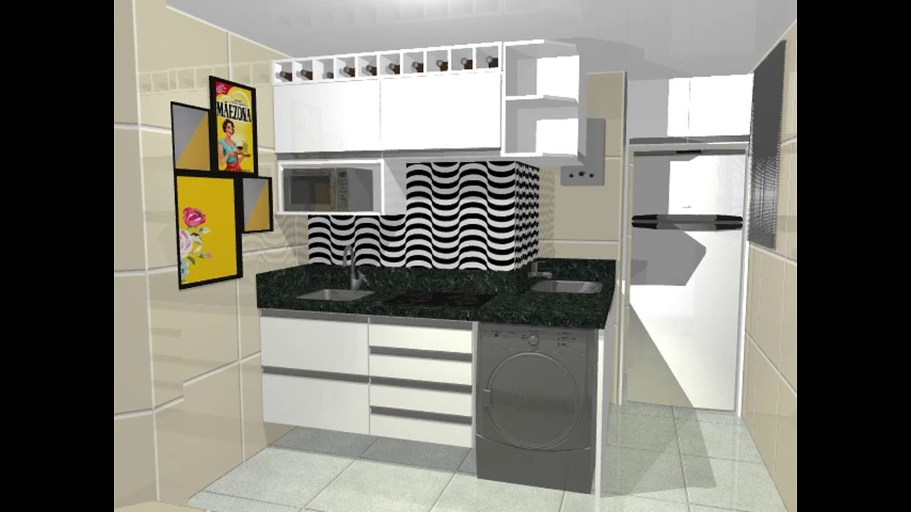 Mini Cozinha Planejada Foto Divulgao Todeschini With Mini Cozinha