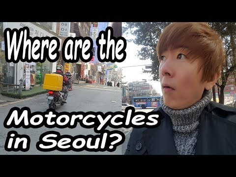 Why No Motorcycles in Seoul?