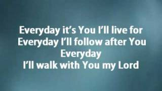 Everyday - Hillsong w/ lyrics