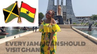 Why Every Jamaican Should Visit Ghana: Similarities between Ghana and Jamaica