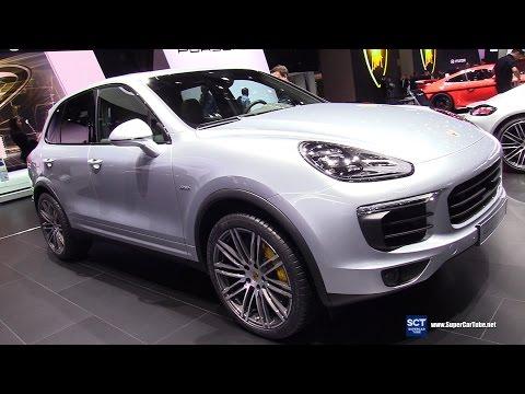 2017 Porsche Cayenne S Diesel - Exterior and Interior Walkaround - 2017 Geneva Motor Show