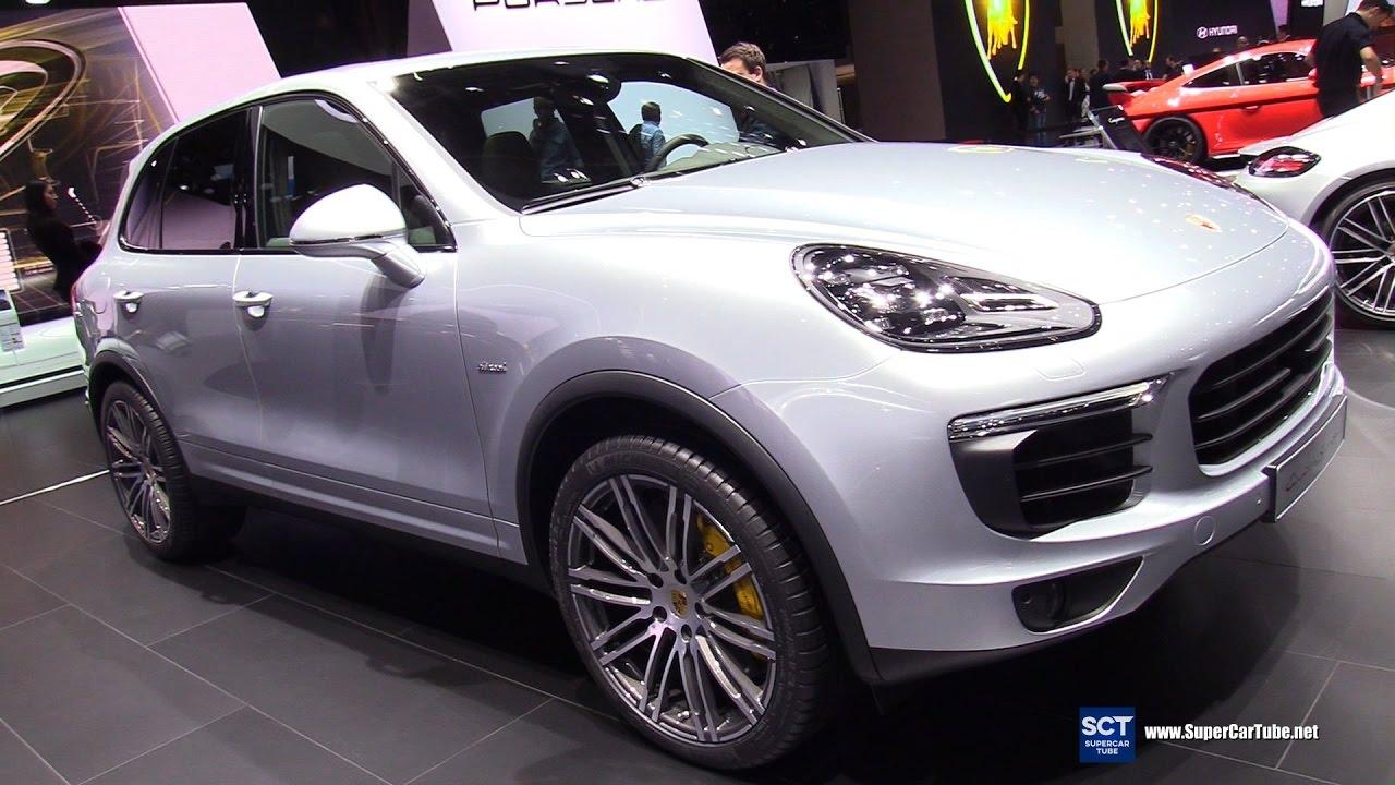 2017 Porsche Cayenne S Sel Exterior And Interior Walkaround Geneva Motor Show