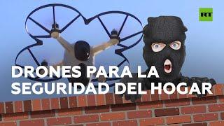 Compañía crea unos drones de seguridad para hogares