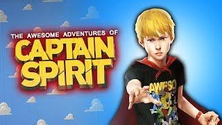 ESTE JUEGO TE HARÁ LLORAR !!  | The Awesome Adventures of Captain Spirit