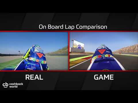 Rossi & Yamaha Comparison lap – MotoGP17
