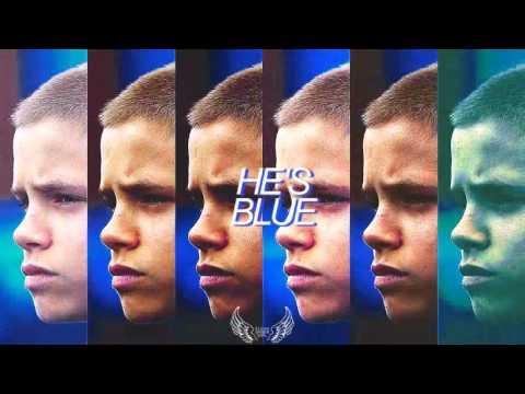 Romeo Beckham  Everything is blue