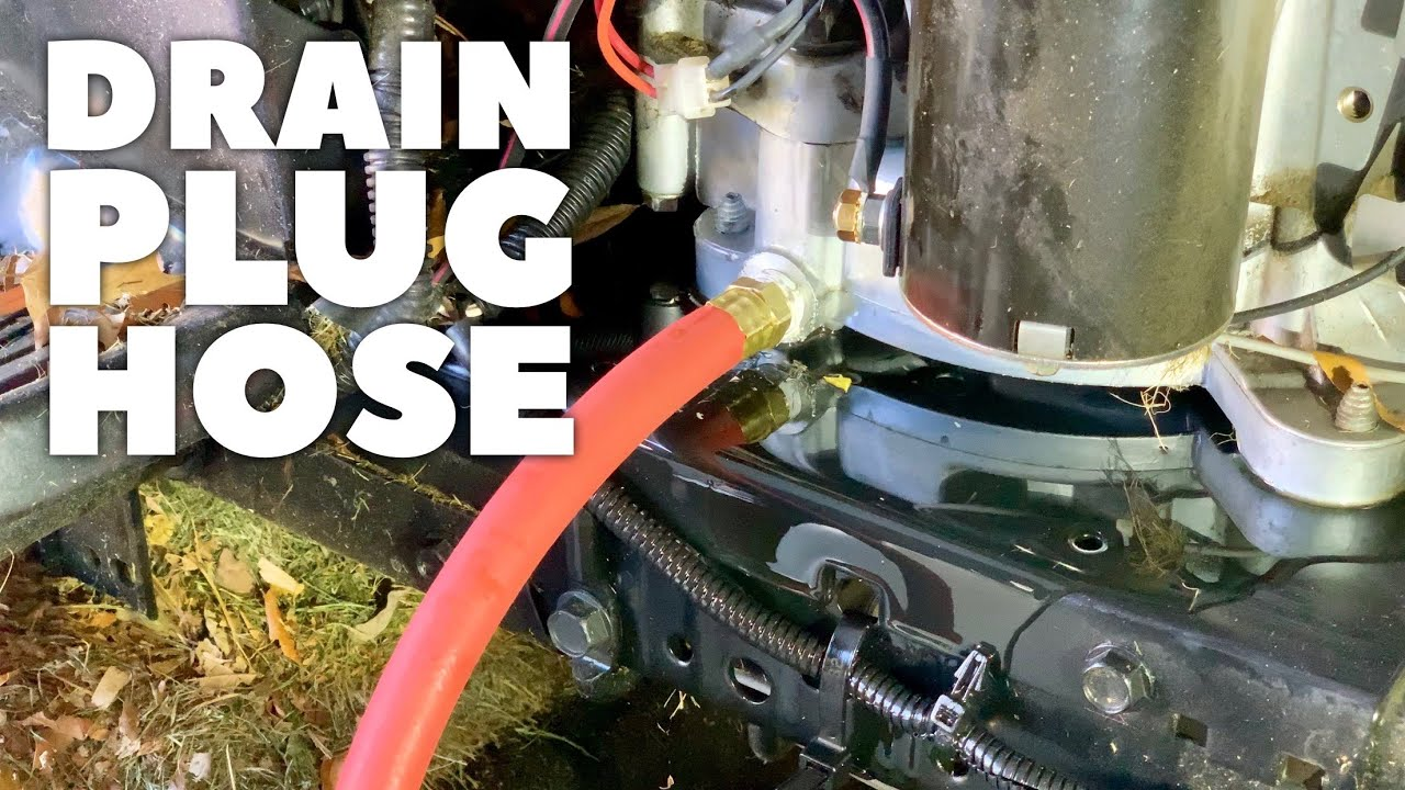 Make Oil Changes Easy With The Drainzit Drain Hose Youtube