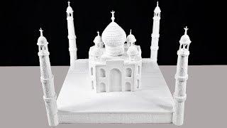 How To Make A Model Of Taj Mahal-DIY Thermocol Taj Mahal