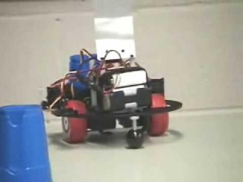Clean Sweep: An Autonomous Table-cleaning Robot -- GS, 2005