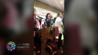 فيديو| هرج ومرج وسوء تنظيم فى حفل تكريم سفراء النوايا الحسنة