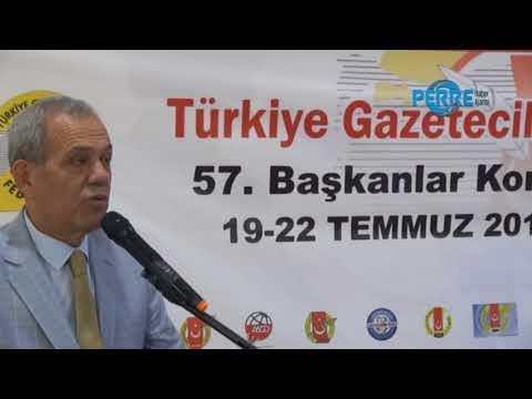TGF 57'nci Başkanlar Toplantısı Yapıldı
