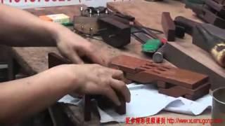 Xin Quansheng's Chines Troditonal Woodworking--luban Stool(4)