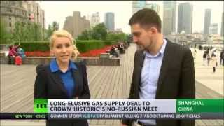 Gazprom to sign monumental gas deal with China
