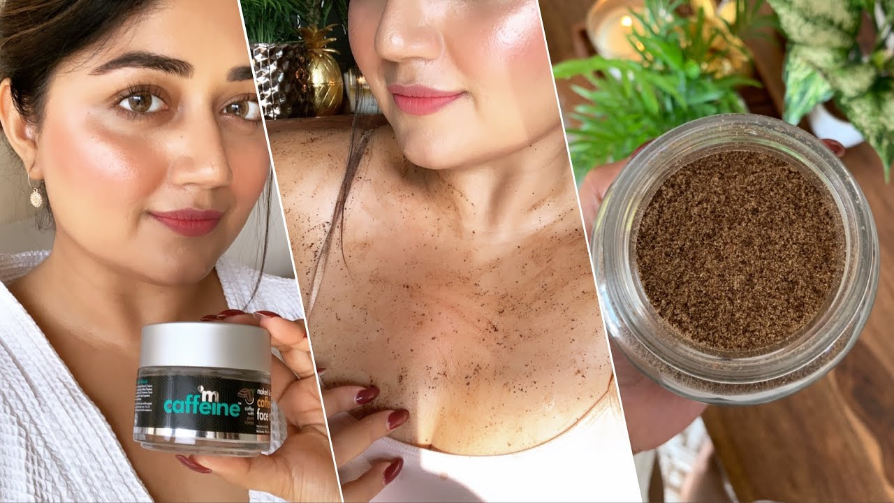 Mcaffeine Naked Detox Green Tea Skincare Products Review