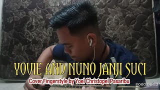 Download Yovie and Nuno Janji suci Fingerstyle