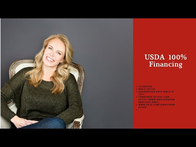 USDA Home Loan 100% Financing (2017/2018)