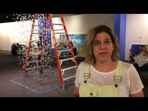 Art installation commemorating victims of opioid epidemic