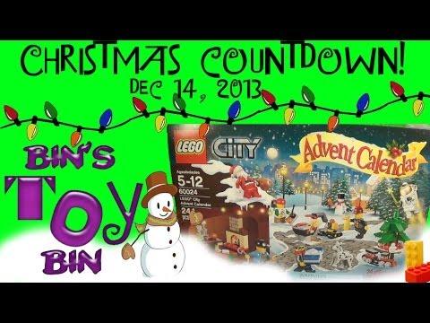2013 Christmas Countdown Day #14! Lego Advent Calendar ...