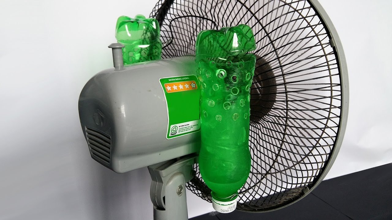How To Make Air Conditioner At Home Using Plastic Bottle