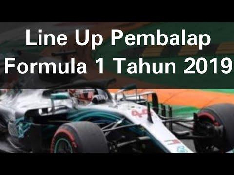 Inilah Susunan Pembalap F1 Tahun 2019 (Sementara) Mp3