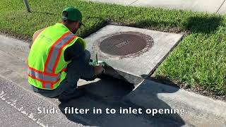 "Installation of a Smart Curb Filter, Adjustable from 22"" - 37"" (SCF2237)"