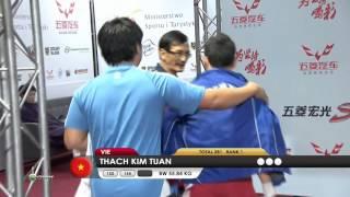 THACH Kim Tuan 2j 155 kg cat. 56 World Weightlifting Championship 2013