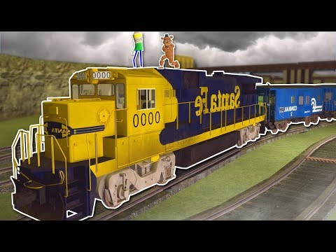 TORNADO SURVIVAL IN A TRAIN? - Garrys Mod Gameplay - Gmod Tornado Survival