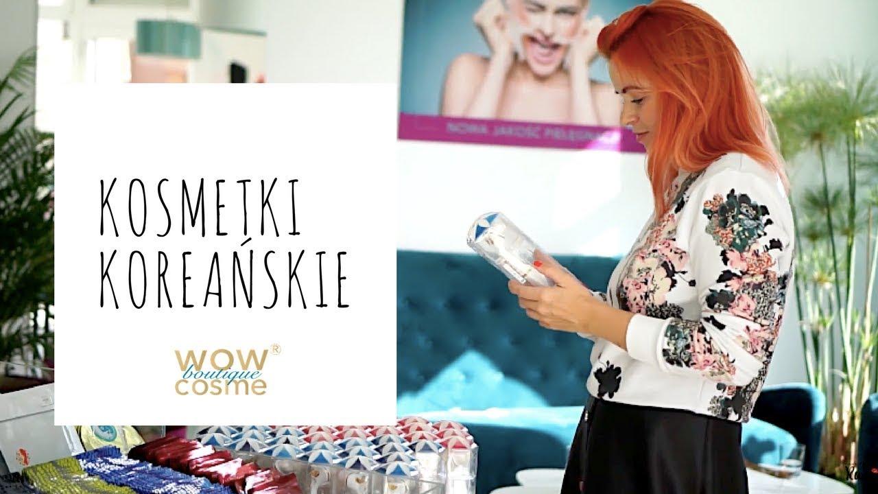 Nowości: kosmetyki koreańskie, maseczka z rekina, Wow Cosme – odkrywamy Wrocław