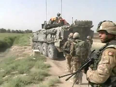 Canadian Armed Forces In Heavy Firefight In Afghanistan 2/3.