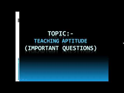 5th Sunday Teaching Aptitude Live Session Info. by Be Prepare for UGC-NET