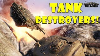 World of Tanks - Funny Moments | TANK DESTROYER MAYHEM!