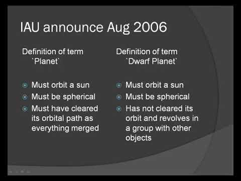 The Dwarf Planets with Alison Chester-Lambert