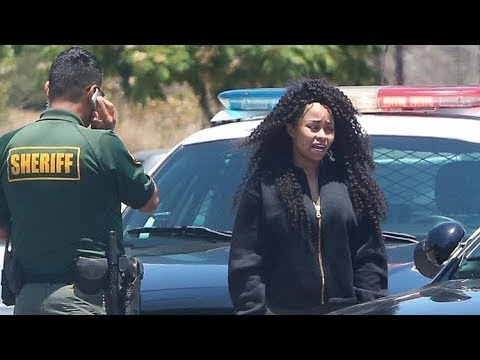Blac Chyna Rolls Royce Impounded For Not Having Insurance.